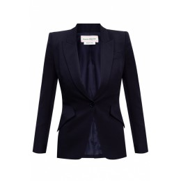 Alexander McQueen Women Blazer with notch lapels Brand Black Friday ZCZMHHN