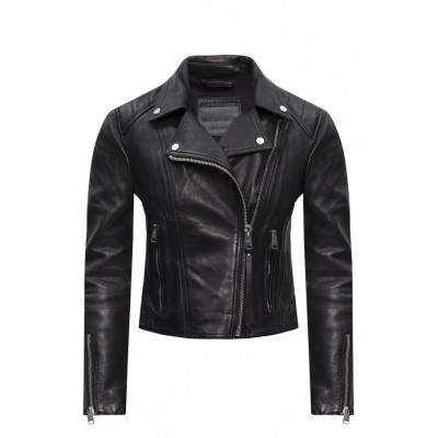 AllSaints Girl's Tops 'Neve' leather jacket Brand UMRHGLR