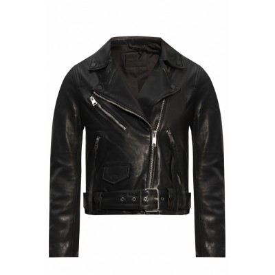 AllSaints Women's Clothing 'Griffen' leather jacket Brand The Best IBNPMUO