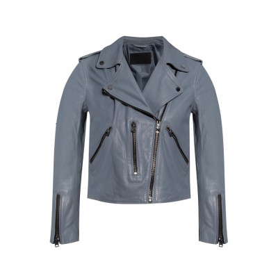 AllSaints Women's 'Fern' leather biker jacket  RSZGTHK