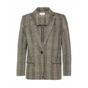 Girl's Clothing Oversize herringbone blazer On Sale NUPSNTN