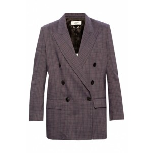 Isabel Marant Etoile Outwear Checked blazer Brand New Look OAVOVBD