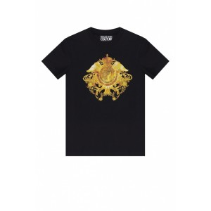 Versace Jeans Couture Clothing Printed T-shirt Work Good Quality VDWMYOQ