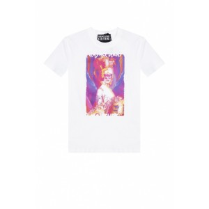 Versace Jeans Couture Outwear Logo T-shirt Big YTGAWPV