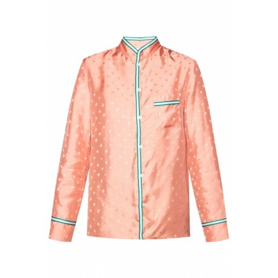 Marni Shirt with logo Loose Fit Classic Fit LIMEWRT