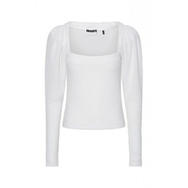 ROTATE Tops Stevie Jersey Top White Base layer New Look