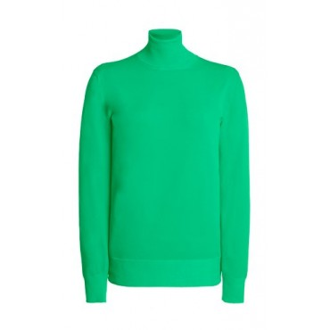 Tom Ford Women's Tops Knit Turtleneck Top Green