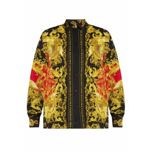 Versace Jeans Couture Women Outwear Baroque print shirt Blouses for Work Good Quality QQFRETP