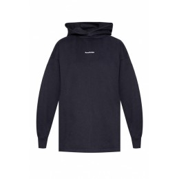 Acne Studios Girl's Hoodie with logo patch Workout Brand HFWIMSA