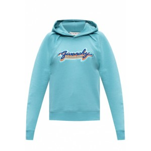 Givenchy Girl's Logo-embroidered hoodie Sports UNCEKNH