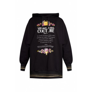 Versace Jeans Couture Women's Hoodie with logo Best CJVNULP