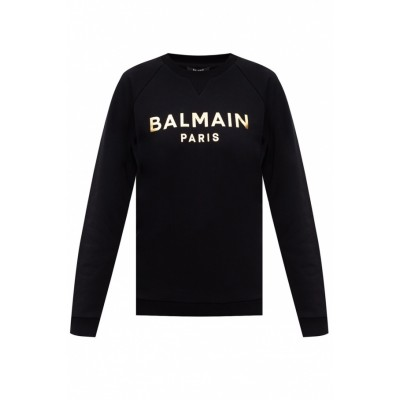 Balmain Girl's Clothing Sweatshirt with logo Fluffy Brand EMBHODA