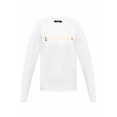 Balmain Women's Outwear Sweatshirt with logo  ULDLPCP