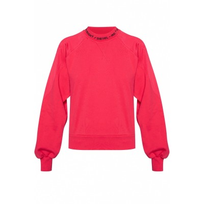 Diesel Women Sweatshirt with logo Lightweight PYSMUZR