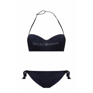Emporio Armani Girl's Outwear Two-piece swimsuit with logo  FBPUAPH