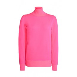 Tom Ford Women's Clothing Knit Turtleneck Top Pink Petite Best