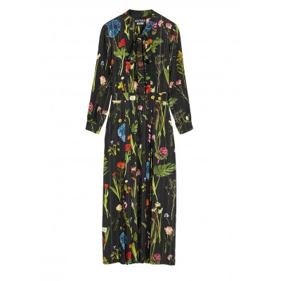 Boutique Moschino Floral-print maxi dress Plus Size Trends SC425871