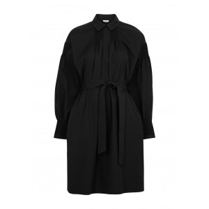 Dries Van Noten Tops Darcy black belted cotton dress Casual Brand SC435838