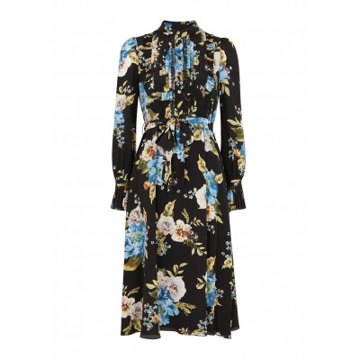 Erdem Women's Gregory floral-print silk crepe de chine dress Brand SC424773