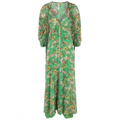 Free People Women Outwear Earthfolk floral-print georgette maxi dress SC427321