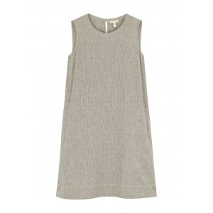 EILEEN FISHER Striped cotton-blend tunic dress Casual SC436294