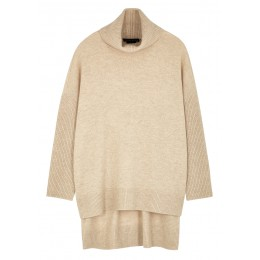 Alice + Olivia Girl's Clothing Sawyer oatmeal stretch-cashmere jumper Trends SC409592