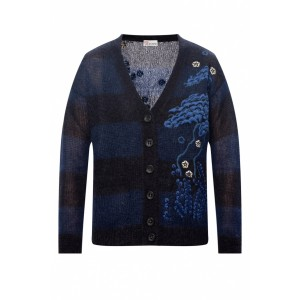 Red Valentino Women's Outwear Floral-embroidered cardigan Fine The Best EOQHOGY