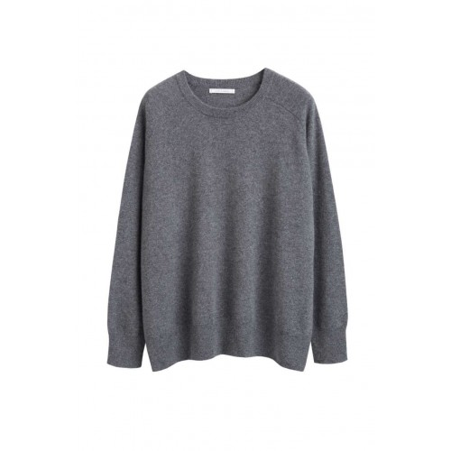 Chinti & Parker Grey cashmere slouchy sweater Oversized Best SC359667