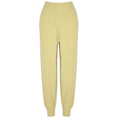 extreme cashmere Girl's Tops N°56 Yogi lime cashmere-blend sweatpants Holiday Trends SC432306