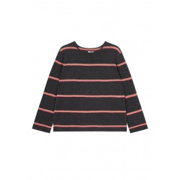 Jigsaw Girl's Clothing Cashmere stripe slouchy jumper Oversized The Best SC375015