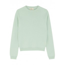 People's Republic of Cashmere Clothing Light green cashmere jumper Under $50 Wholesale SC425119