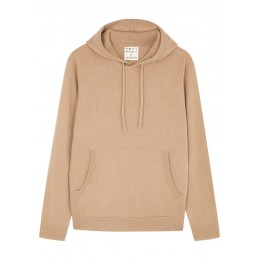 People's Republic of Cashmere Women Clothing Camel hooded cashmere jumper Under $50 SC409225