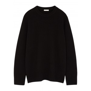 THE ROW Sibem black wool and cashmere-blend jumper Oversized SC435865
