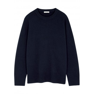 THE ROW Tops Sibem navy wool and cashmere-blend jumper Oversized SC435866