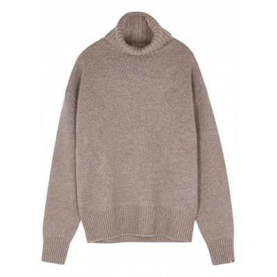 extreme cashmere Girl's N°20 Oversize Extra taupe cashmere-blend jumper Casual SC414832