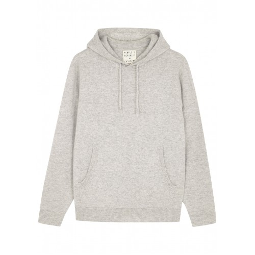 People's Republic of Cashmere Women Tops Grey hooded cashmere jumper For Sale SC409224