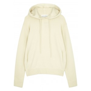 extreme cashmere Tops N°90 Be Cool cream cashmere-blend sweatshirt Fuzzy SC432299